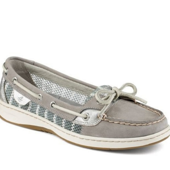 Sperry Angelfish Grey Benton Mesh